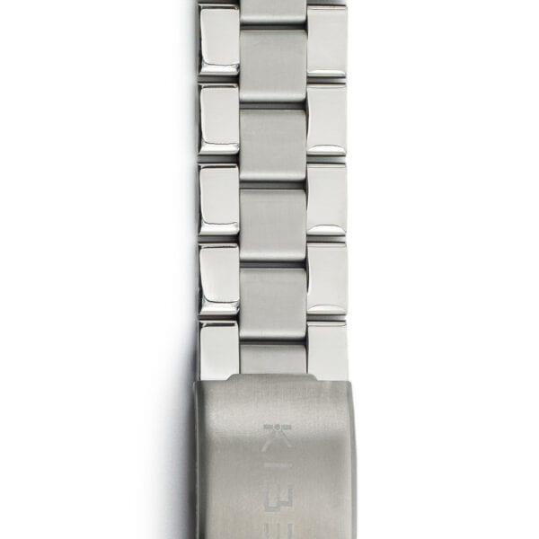 Kiber 20mm aquarius rvs horlogeband-detail